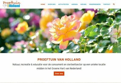 Nieuwe website Proeftuin van Holland online!